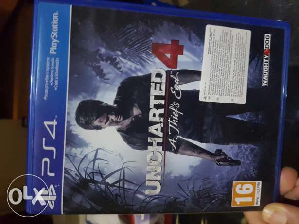 Uncharted 4 latest series perfect condition