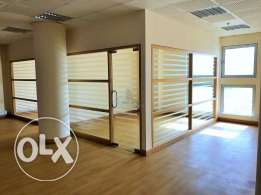 Professionally infra-structured office..
