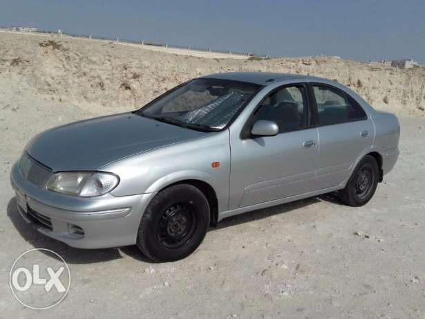 NISSAN SUNNY MODEL - 2001 insurance passing expiry date 31/01/2018
