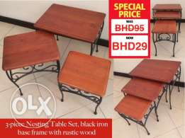 Nesting tables for sale