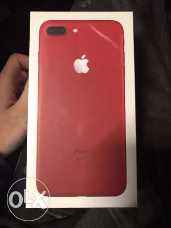 Selling an iOS 7 Plus Red Color