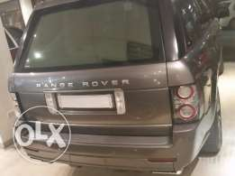 Range rover hse 2009 with body kit