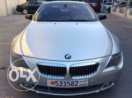For Sale 2004 BMW 645i Hamman Modification Single Owner Bahrain Agency