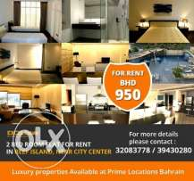 2 BR Fully Furnished Apartment in Reef Island Full Sea View