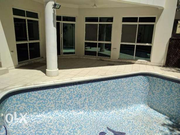 3 Bedroom semi furnished villa with private pool
