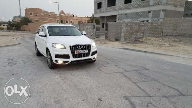 For sale audi q7 supercharged 2011