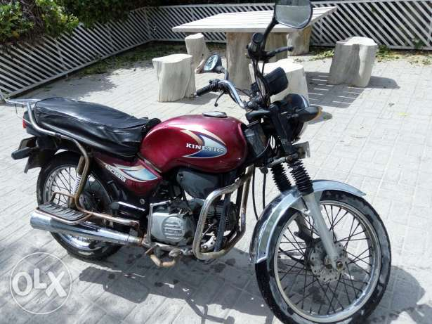 Motorcycle Knitec 2005