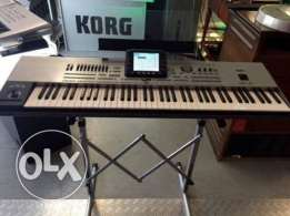 76 KEYS for Korg pa3xpro clean and new silve warranty available