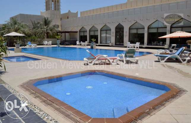 Hamala semi furnished villa with private pool - all inclusive