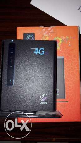 Zain Broadband router (excellent condition)