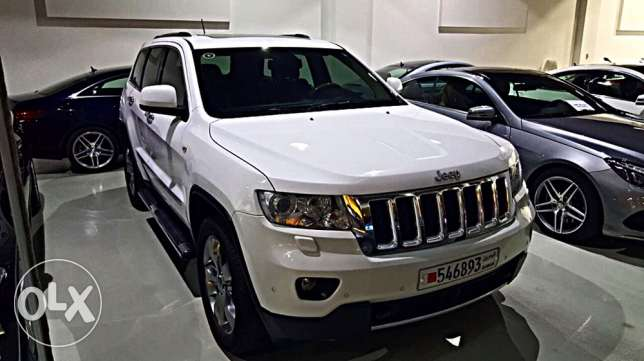 Jeep Grand Cherokee overland 2013 only 53000 km