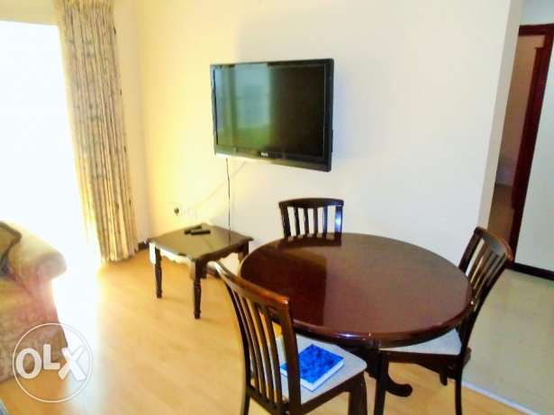 In Mahooz 2 bedroom apartment fully furnished