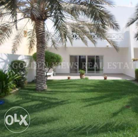 4 Bedroom semi furnished modern villa for rent all inclusive,garden