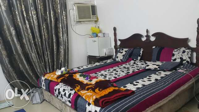 Furnished Big Room for Rent with attached bathroom for ladies only