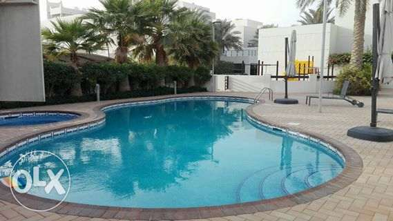 modern semi furnished villa close to Saudi causeway