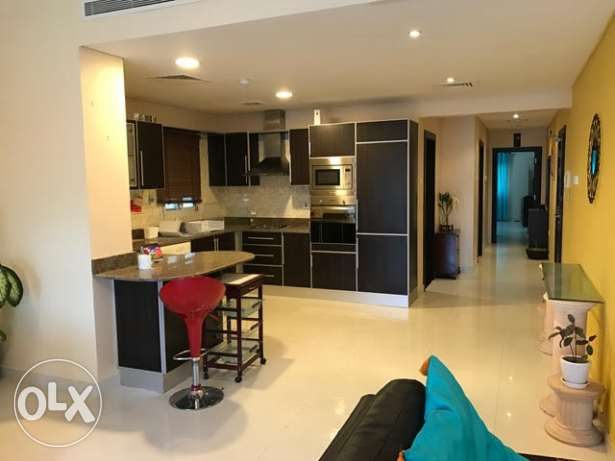 2 Bedrooms Fully Furnished Apartment in Umm Alhassam