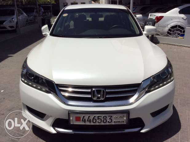 For Sale 2013 Honda Accord Bahrain Agency