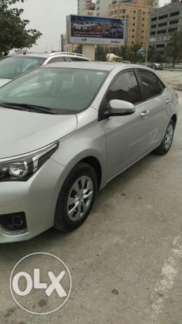 Toyota corolla 2015 Bahrain agents excellent condition agent service