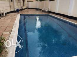 3 bedroom Sami furnished flat in Mahooz