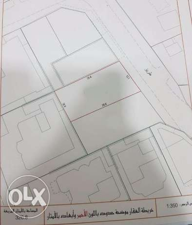 Two lands for sale in Sanad in quite place Ref: SAN-HH-002