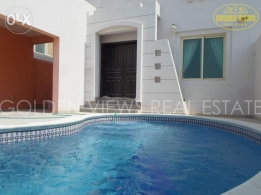 Busaiteen semi furnished 2 storey villa with private pool inclusi