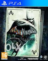 batman return to arkham DISC 2 PS4 SAFE