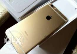 I phone 6 plus 64 gb with box and accesories