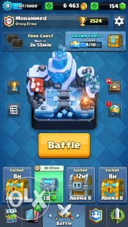 Cheap Clash Royale Account!