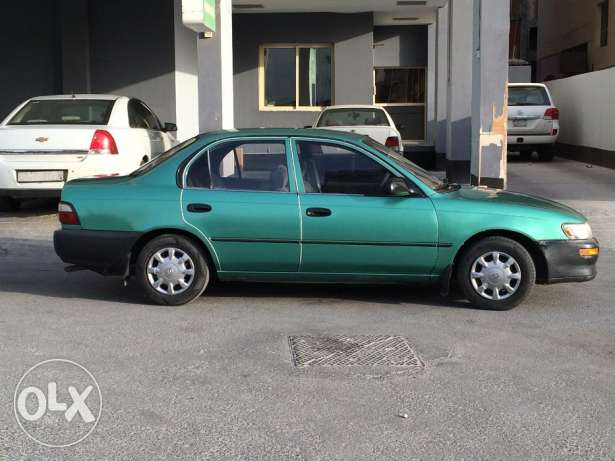 For sale Toyota Corolla 1997 model BD 600 registered till March 2018