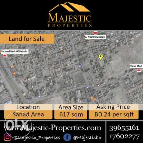 RA Land for Sale in Sanad Area