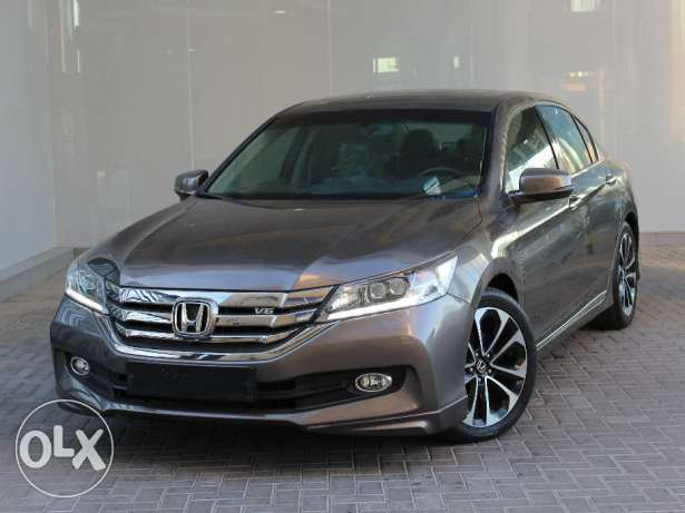 Honda Accord 4DR 3.5L V6 Sport full option 2016 Grey For Sale