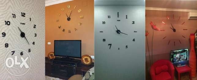 Modern High quality wall clocks مدينة عيسى -  5