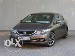Honda Civic EXi S.Roof - 2013 Brown For Sale