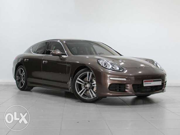 "Brown Porsche Panamera S ""Approved"" 2014MY"