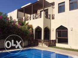 EXECUTIVE 5 bedroom semi furnished compound villa for rent