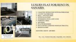 Luxury flat for rent in Sanabis