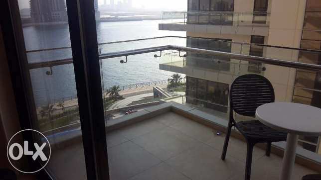 Spacious modern Sea view in Seef 2 BR
