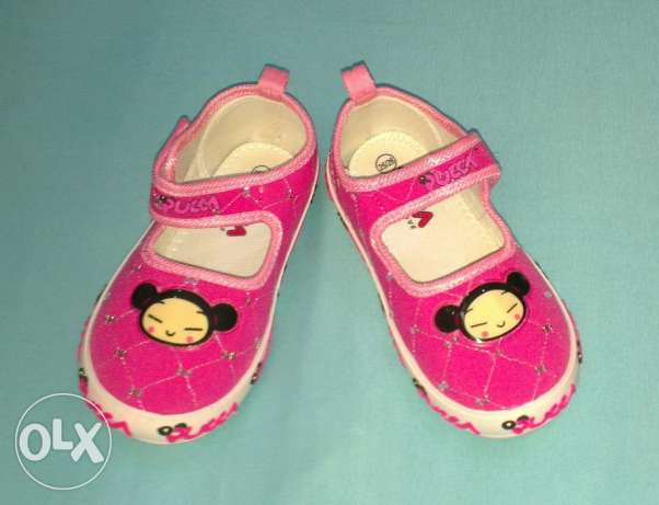"New girls shoes ""Pucca"" size 26"