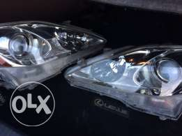 lexus is headlights