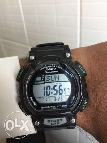Casio tough Solar ,lap memory 120