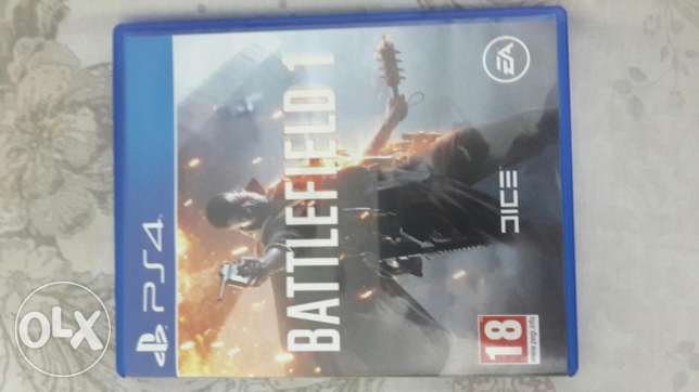 Battlefield 1 ps4 for sale. Bd 13. Or exchange with fifa 17