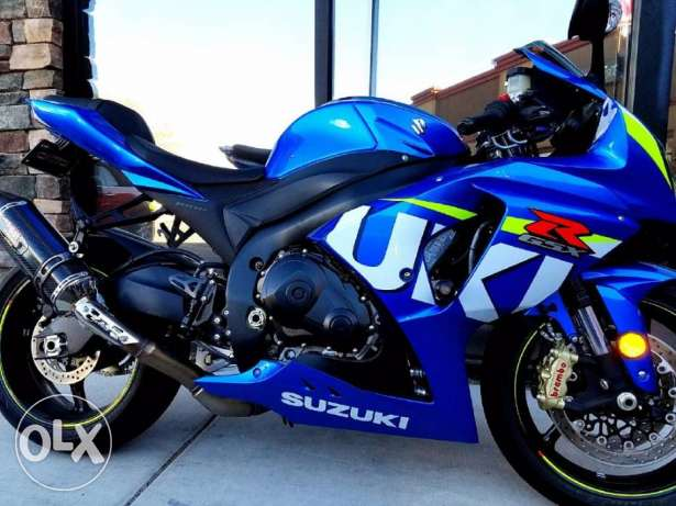 2016 Suzuki gsx-r 1000 for sale with low mise on it