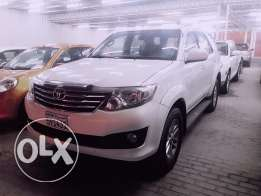 Toyota Fortuner V4 2012 model for sale.