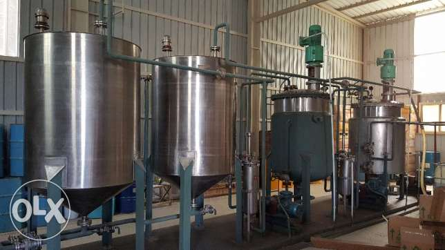 Lubricant fine chemical blending plant included stock and brand and two cars exisiting customers running business for serious buyers only. المنامة -  1