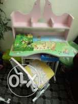 3 seater sofa +single + kids study table