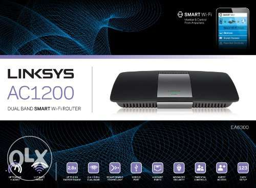 Linksys EA6300 AC1200 Router Smart