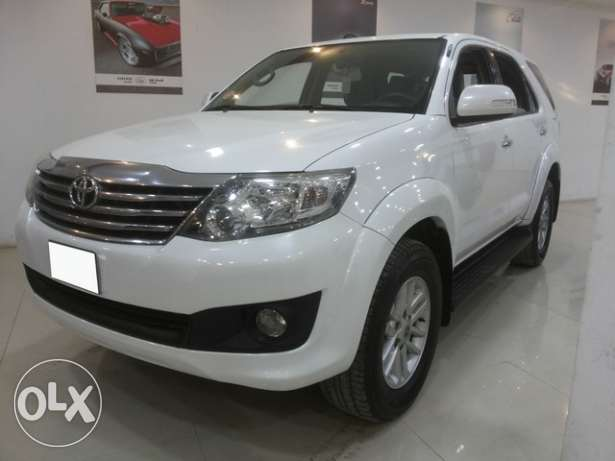 Toyota Fortuner V4 2012 Model