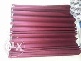 Curtain with pipe rod Urgent sale