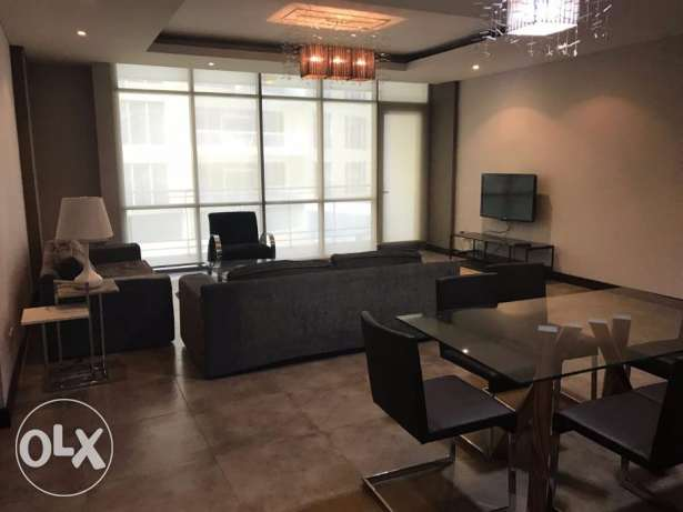 Spacious apartment 2 BR in Amwaj / Balcony