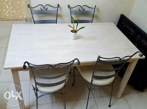 Dinning Table 4 Seat